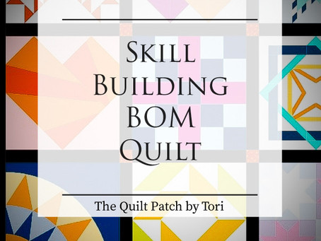 Skill Building Block of the Month Quilt Program