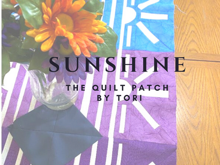 The Sunshine Quilt Block and Pattern