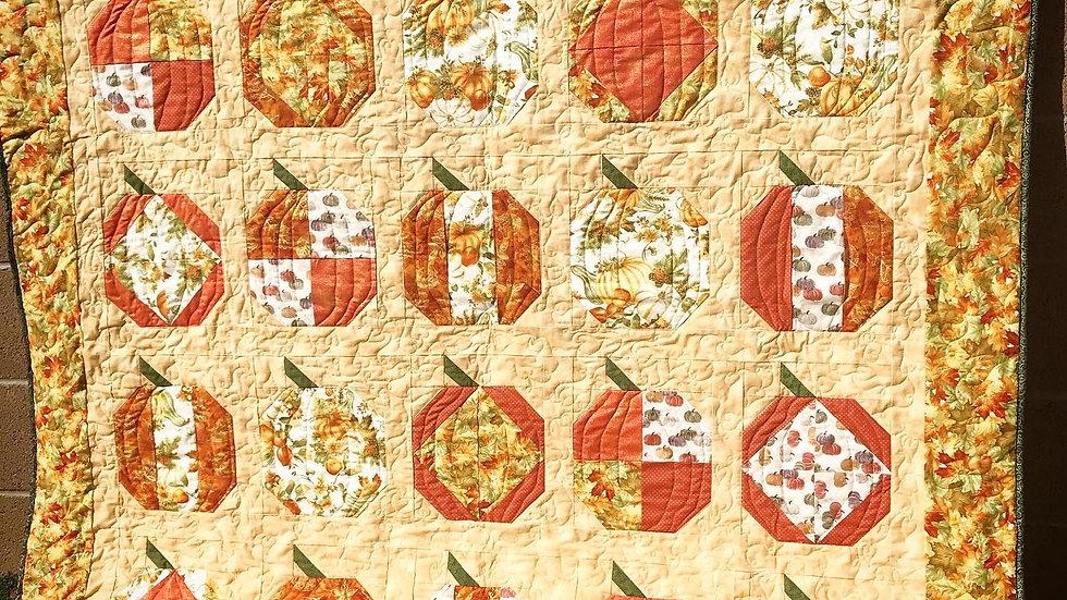 Scrappy Pumpkin Patch Quilt Pattern