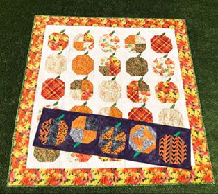 Scrappy Pumpkin Patch Quilt Pattern