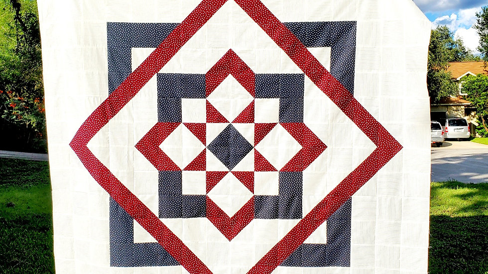 Target The Stars Quilt Pattern PDF