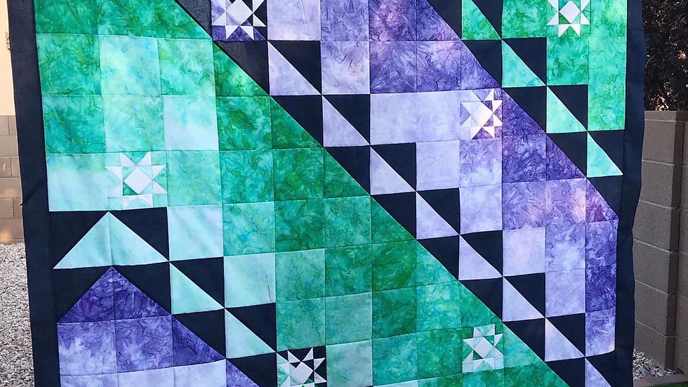 Navigate the Stars Quilt Pattern PDF