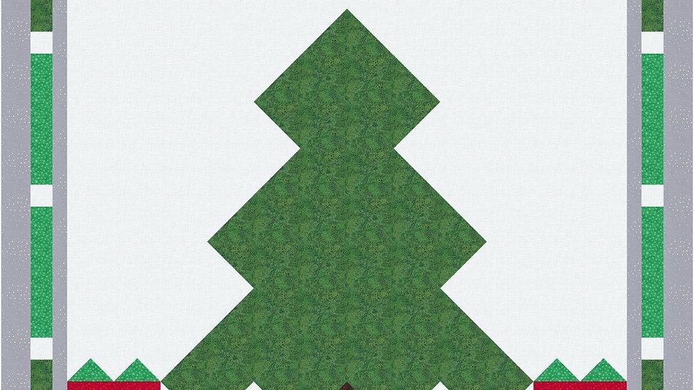 Christmas Tree Pillow Pattern PDF