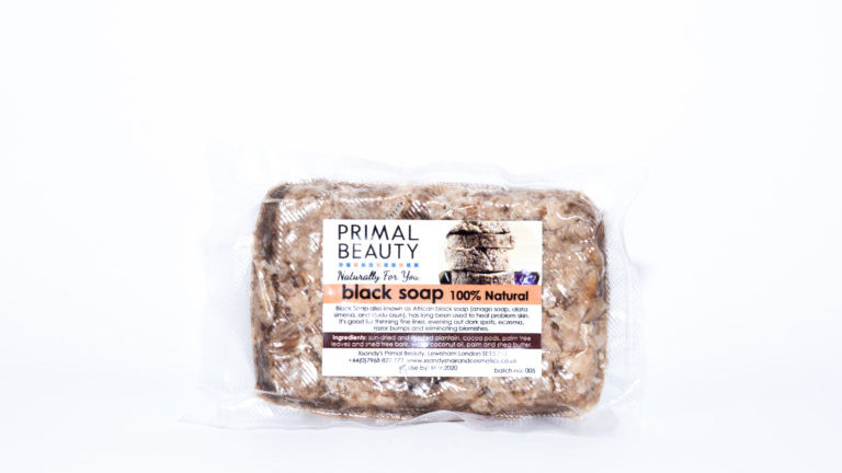 Primal Beauty Black Soap