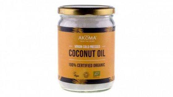Coconut Oil Virgin Organic (Cold Pressed) Raw Food Grade 300ml