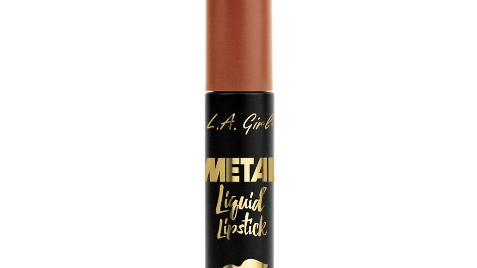 LA Girl USA Cosmetics-Metal Liquid Lipstick- Copper