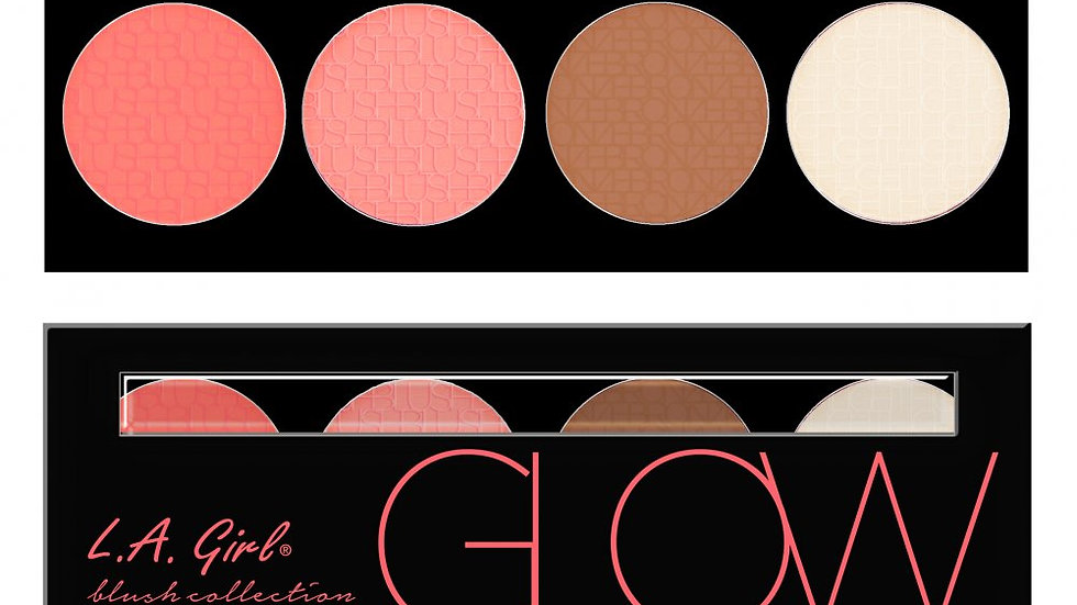 LA -GIRL- LA Girl Cosmetics - BRICK BLUSH (GLOW)
