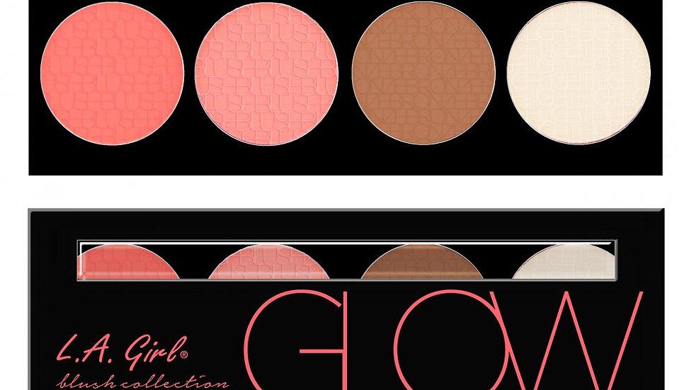 LA -GIRL- LA Girl Cosmetics - BRICK BLUSH (PINKY)