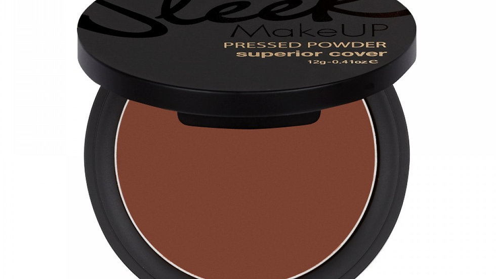 SLEEK - Superior Cover Pressed Powder in Super Tan