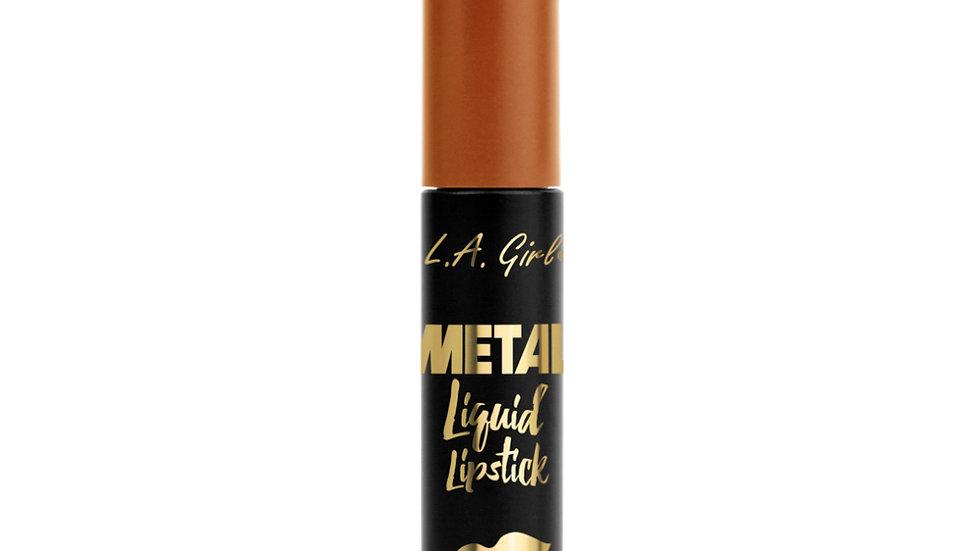 LA Girl USA Cosmetics-Metal Liquid-Golden