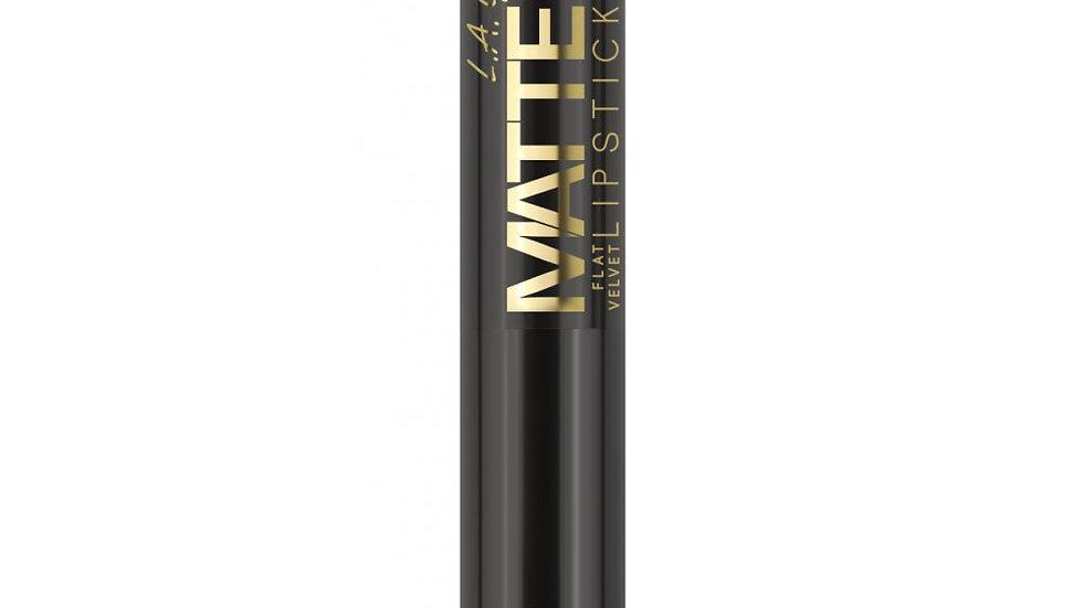LA Girl USA Cosmetics -  Matte Velvet Lipstick- Raven