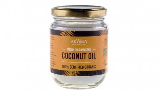 Coconut Oil Virgin Organic (Cold Pressed) Raw 100ml FOOD GRADE