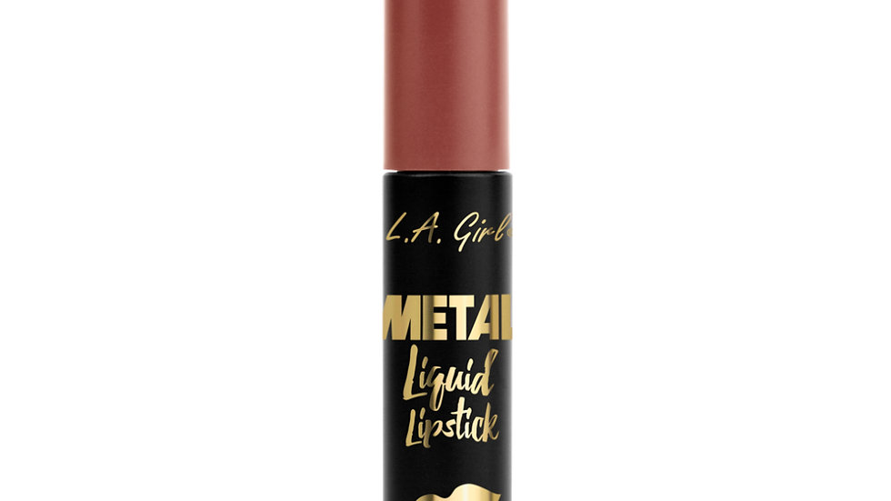 LA Girl USA Cosmetics-Metal Liquid Lipstick-Smoulder