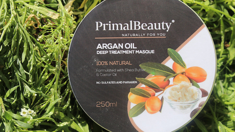 Primal Beauty Argan Oil Deep Treatment Masque