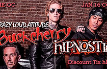 hIPNOSTIC- Buckcherry Coach House 2019 F