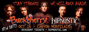hIPNOSTIC- Buckcherry Canyon Montclair F