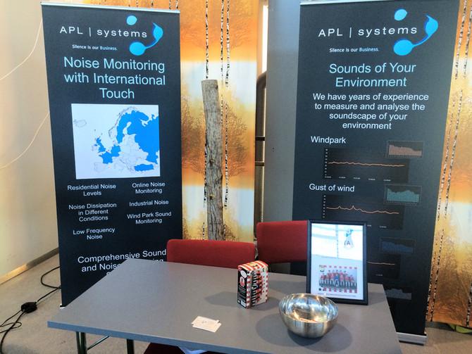 APL Systems Stand at Meluntorjuntapäivät in Jyväskylä