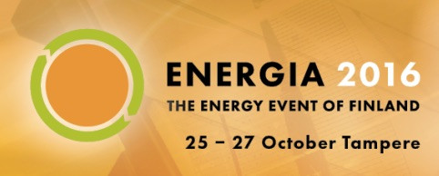 Energia Messut in Tampere, Finland on 25.-27.10.2016.