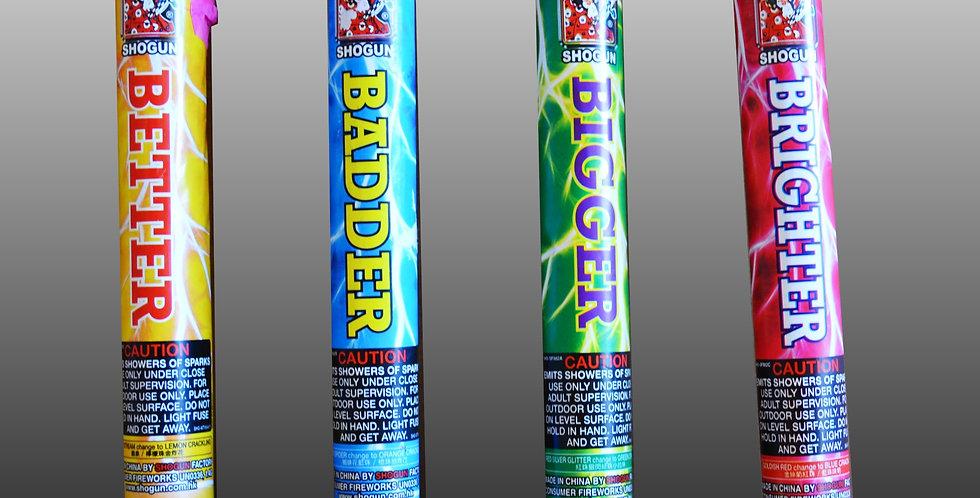 Bigger, Badder, Brighter, Better (4-Pc.)