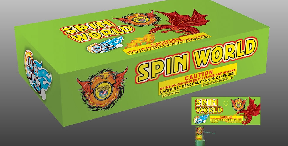 Spin World (6-Pc.)