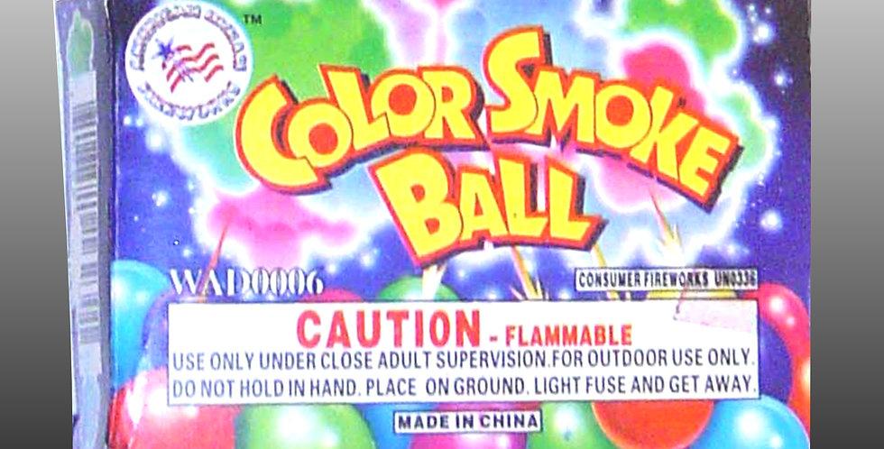 Color Smoke Ball (6-Pc.)
