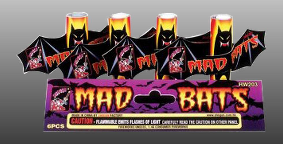 Mad Bats (4-Pc.)