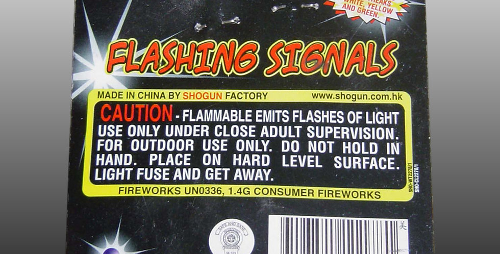 Flashing Signals