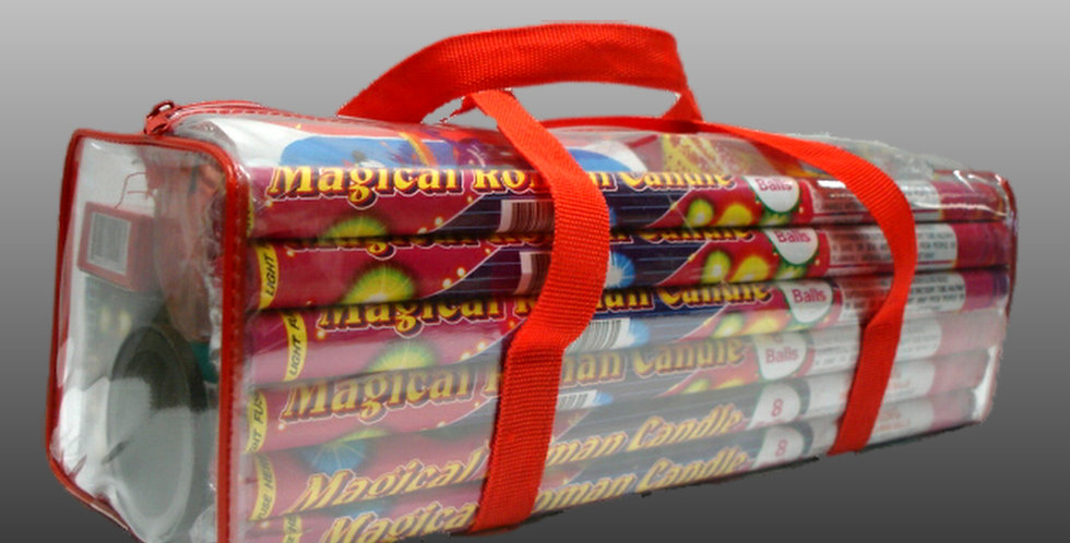 Roman Candle Carrier Bag