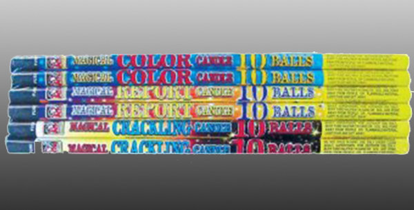 10-Ball Roman Candle Variety Pack