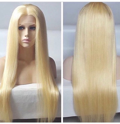 Silky Straight 613 Full Lace Wig
