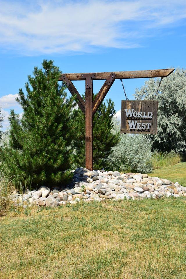 World West Sign