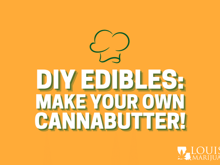 DIY Edibles: Make Your Own Cannabutter At Home