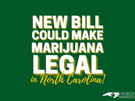 New Bill Could Make Marijuana Legal in North Carolina
