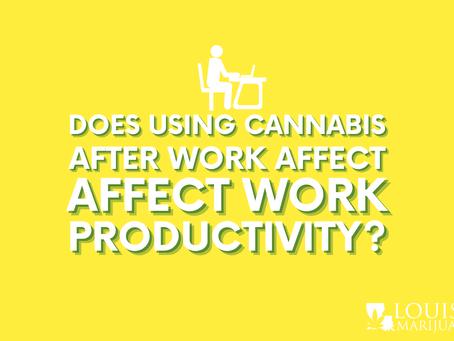Does Marijuana Use After Work Affect Work Productivity?