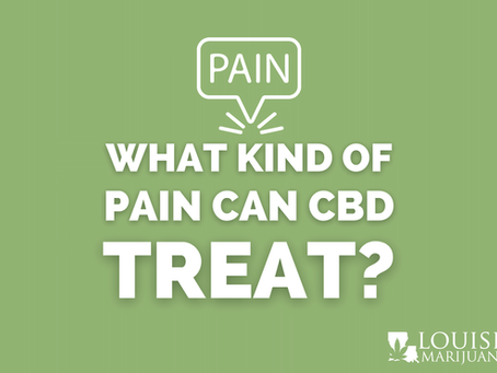 What Kind of Pain Can CBD Help Treat?