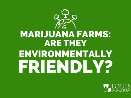 Are Marijuana Farms Environmentally Friendly?