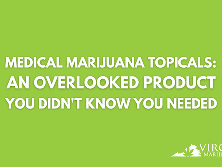 Medical Marijuana Topicals: An Overlooked Product You Didn't Know You Needed