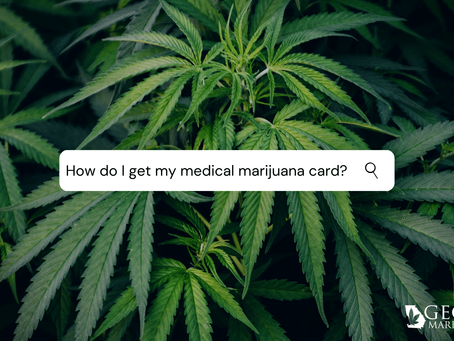 How To Get Your Medical Marijuana Card In Georgia