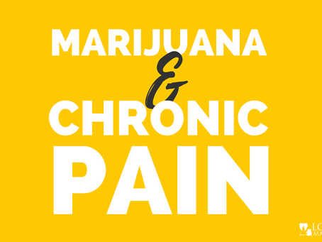 How Can Medical Marijuana Help Chronic Pain?
