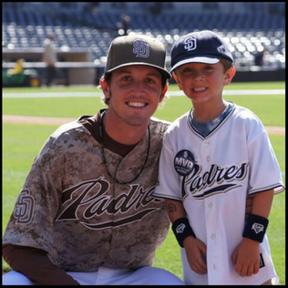 Josh with his buddy Bobby