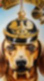 dackel dachshund german pickelhaube ww2 wwi Deutschland painting artwork optigasm art dachshund dog dackel pickelhaube artist Steven McNeely