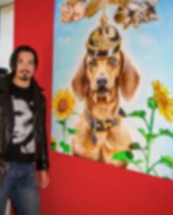 American born artist Steve McNeely, now residing in Germany, Wesel Paintings artists kunst kunstwerk