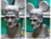frankenstein face off syfy monster halloween glenn hetrick monsterpalooza horrornight scary farm Steven McNeely Artist Kalifornien Künstler Maler Artwork Paintings