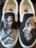 Los Angeles Lakers vans kobe bryant art painting drawing phil jackson Steven McNeely Artist Kalifornien Künstler Maler Artwork Paintings