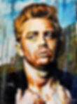 james dean art painting elvis icon rockabilly porche Steven McNeely Artist Kalifornien Künstler Maler Artwork Paintings hollywood