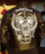 motorhead lemmy rainbow bar grill sunset hollywood leather jacket schott vintage fonzie marlon brando wild one harley davidson indian chief Steven McNeely Artist Kalifornien Künstler Maler Artwork Paintings