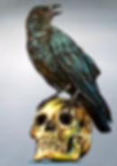 graffiti strret art painting berlin germany Steven McNeely Artist Kalifornien Künstler Maler Artwork Paintings raven skull tattoo deutschland vegas