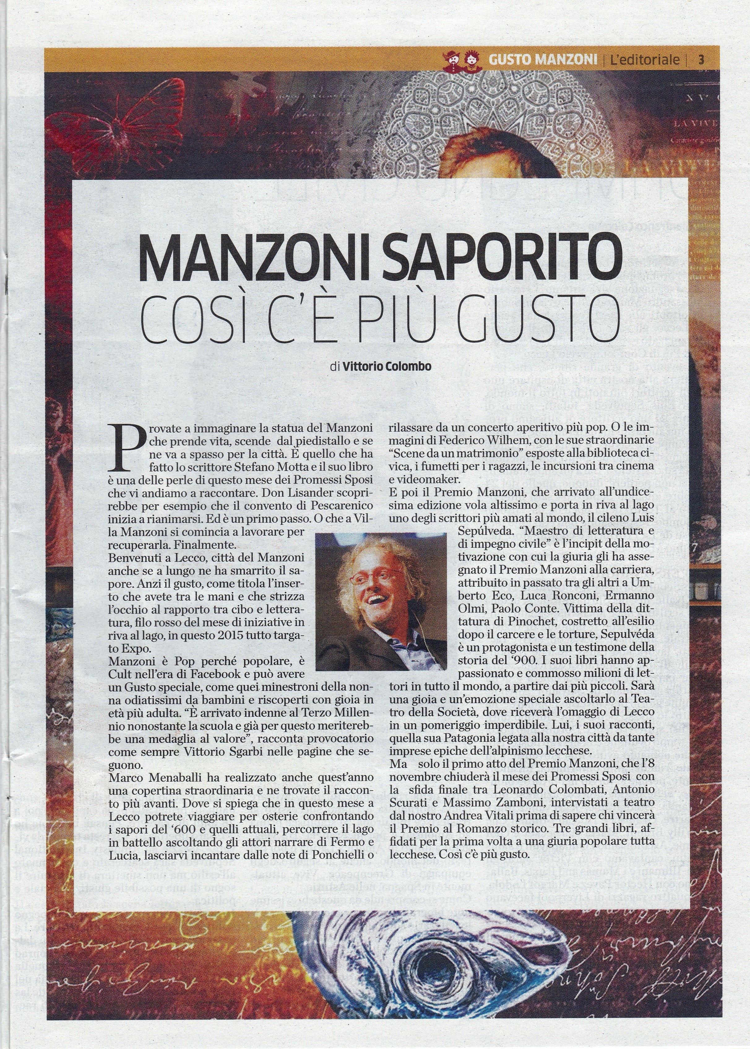 LaProvincia_LeccoPS2015_editoriale