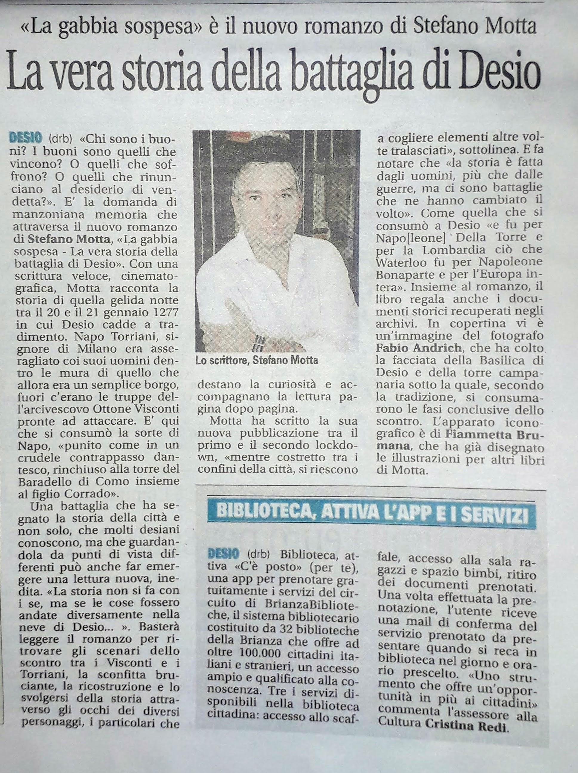 Giornale di Desio_15-12-20, p. 62