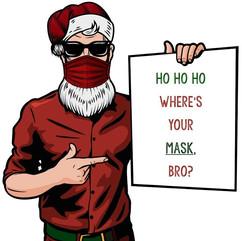 Christmas Covid Santa Claus